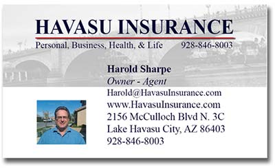 Lake Havasu Insurance